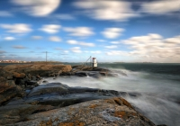 E-83772-Lighthouse in storm
