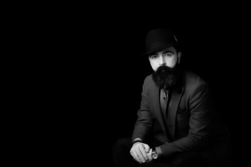 8-Man in black - Shahram Saghafi