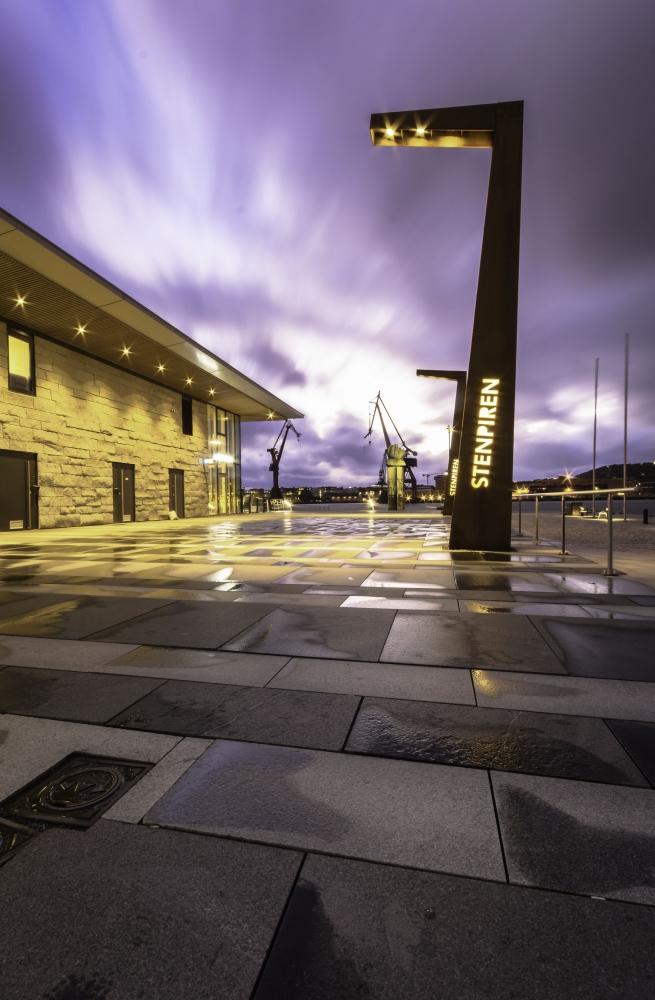 Stenpiren Bus terminal gothenburg Sweden
