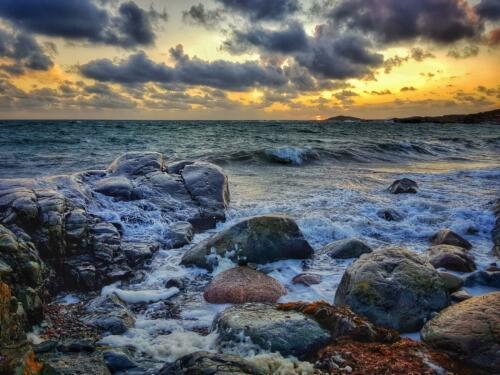 5-Stormig solnedgång - Annicka Carlund